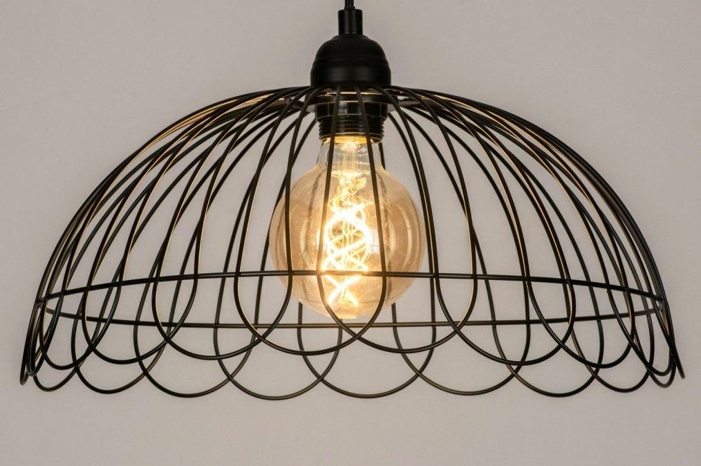 Hanglamp 73266: sale, modern, metaal, zwart #0