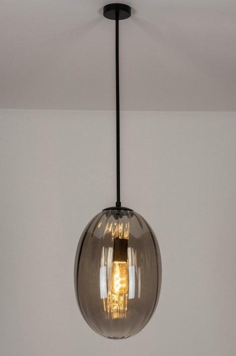 Hanglamp 73273: modern, eigentijds klassiek, art deco, glas #0