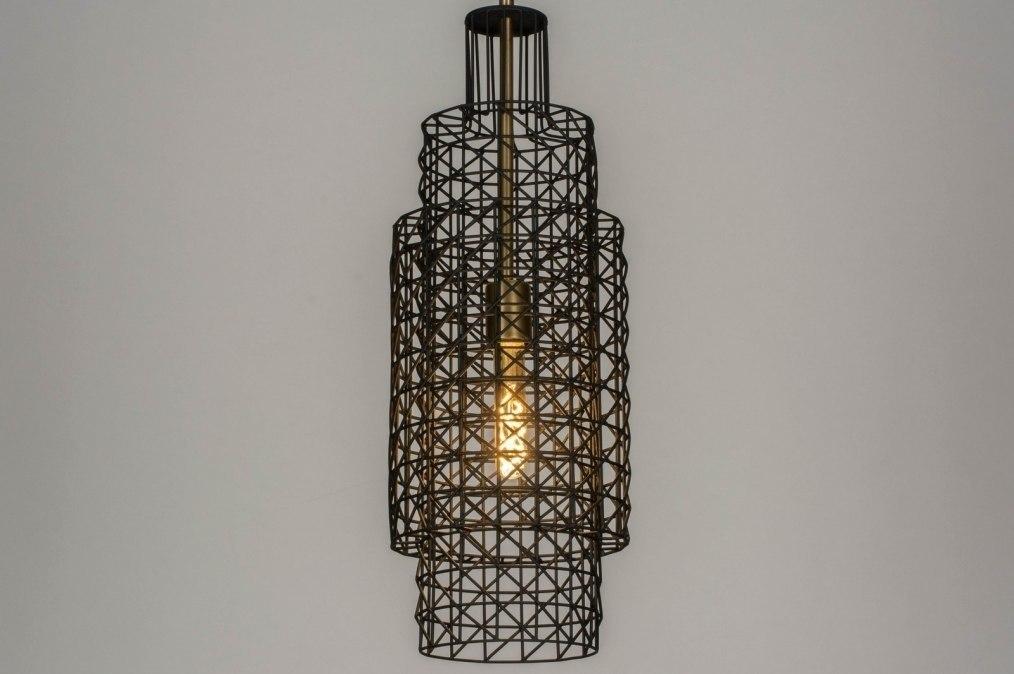 Suspension 73275: soldes, look industriel, moderne, lampes costauds #0
