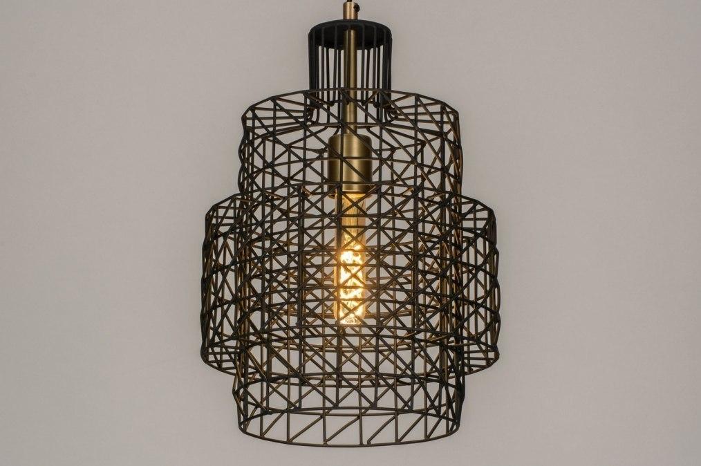 Hanglamp 73277: industrie, look, modern, stoer #0