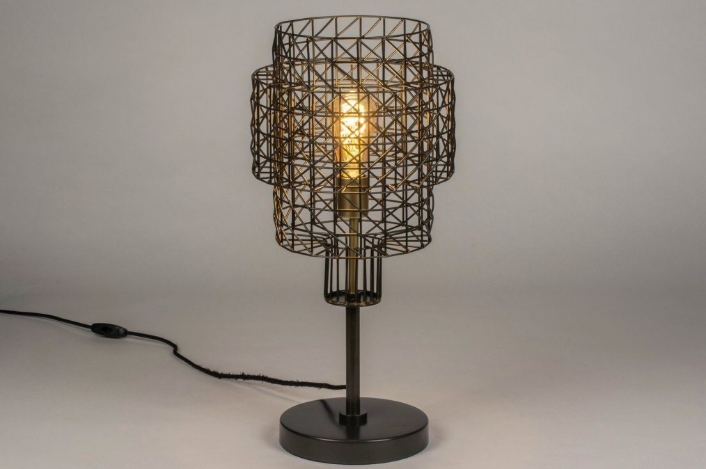 Table lamp 73280: sale, industrial look, modern, raw #0
