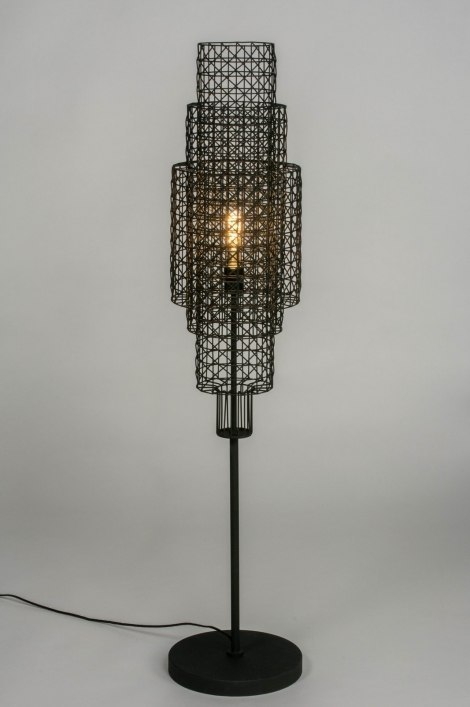 Floor lamp 73281: sale, industrial look, modern, raw #0