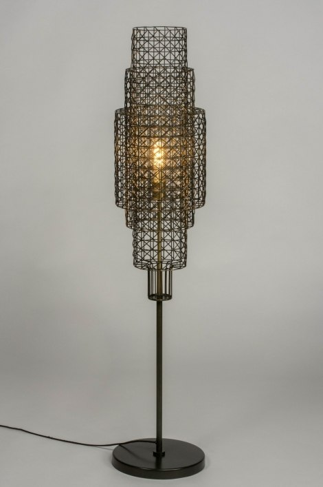 Floor lamp 73282: sale, industrial look, modern, raw #0