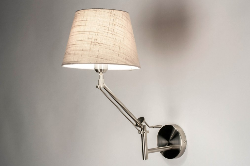 Wall lamp 73309: rustic, modern, contemporary classical, stainless steel #0