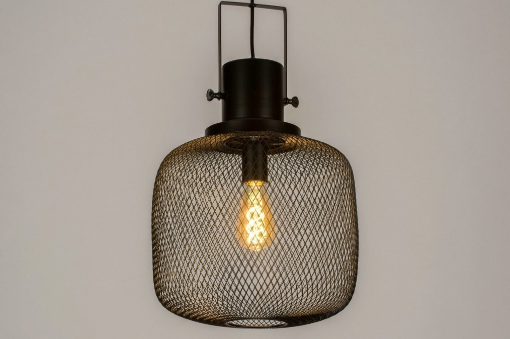 Pendant light 73314: industrial look, modern, raw, metal #0