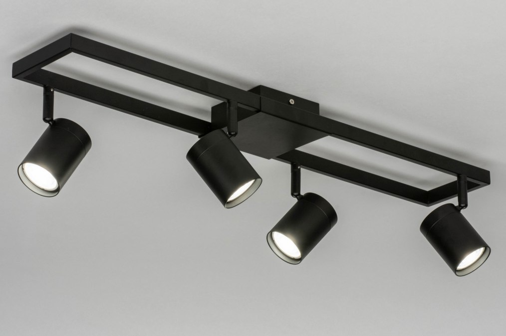 Spotlight 73330: modern, aluminium, metal, black #0