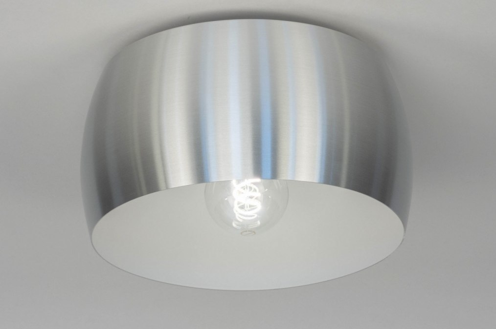 Plafondlamp 73346: design, modern, aluminium, metaal #0