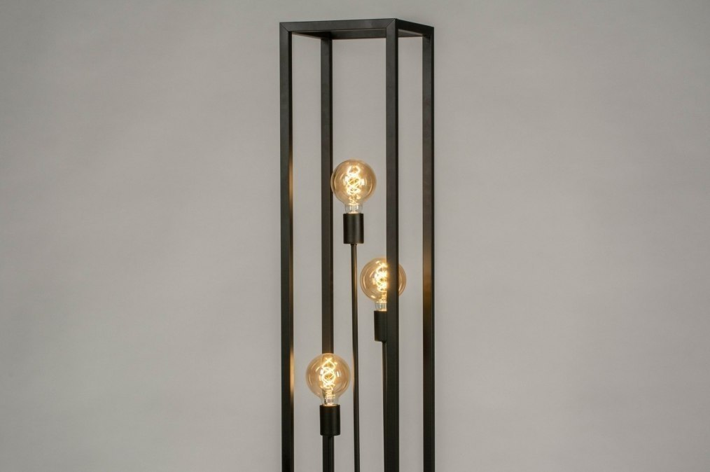 Floor lamp 73359: industrial look, modern, raw, metal #0