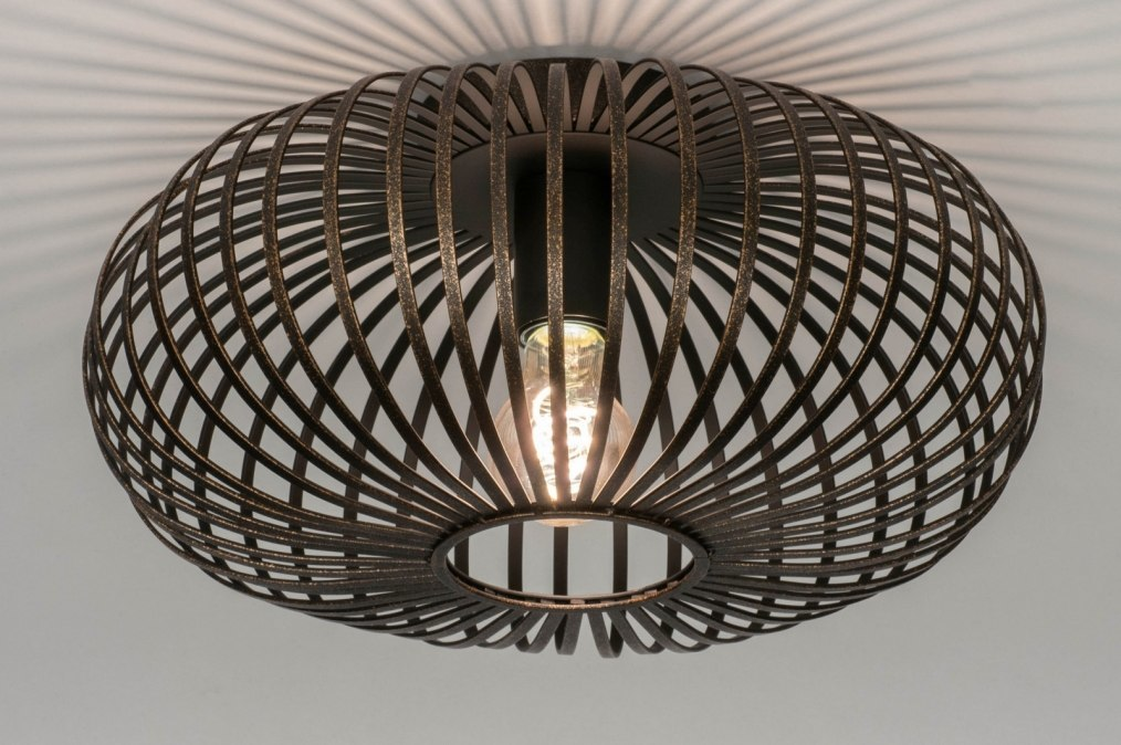 Ceiling lamp 73404: rustic, modern, contemporary classical, metal #0