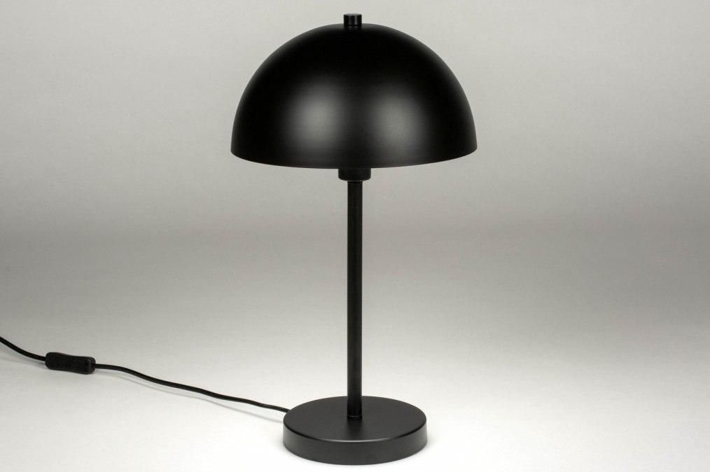 Table lamp 73406: modern, metal, black, matt #0
