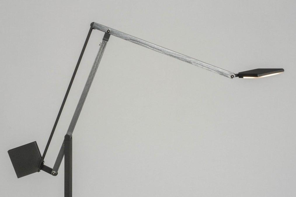 Vloerlamp 73429: design, modern, aluminium, metaal #0