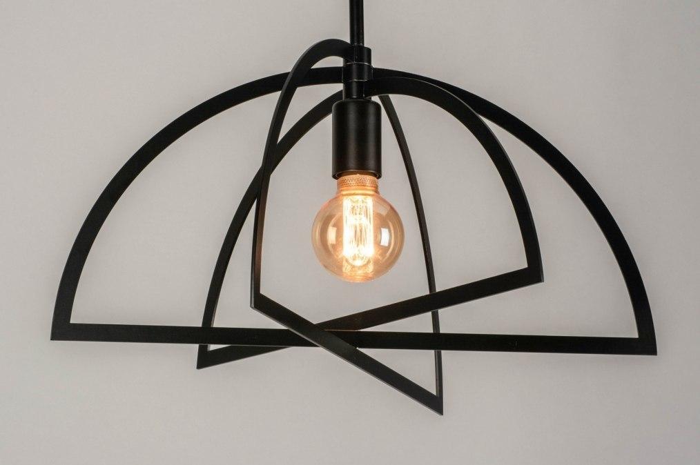Hanglamp 73433: sale, modern, metaal, zwart #0
