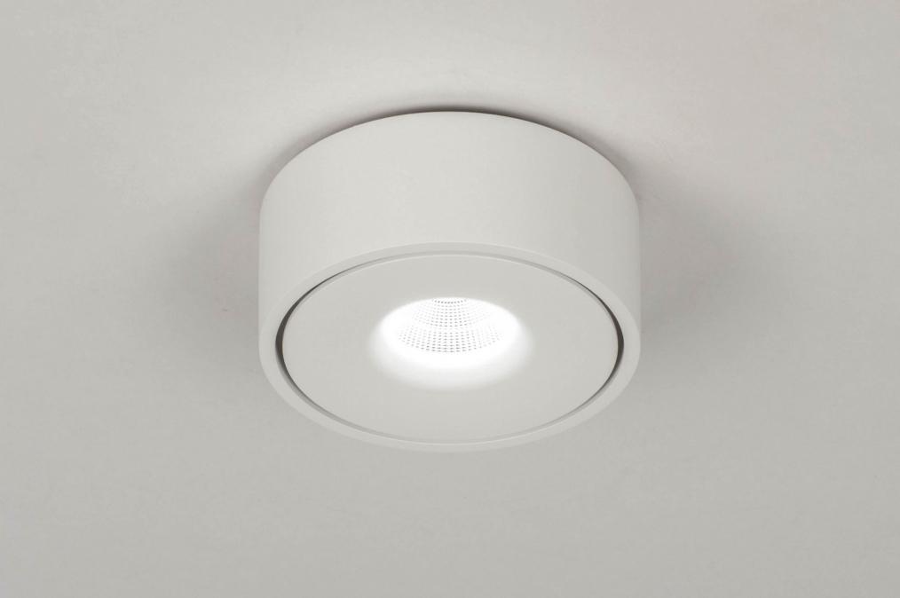 Spot 73442: design, moderne, acier, blanc #0