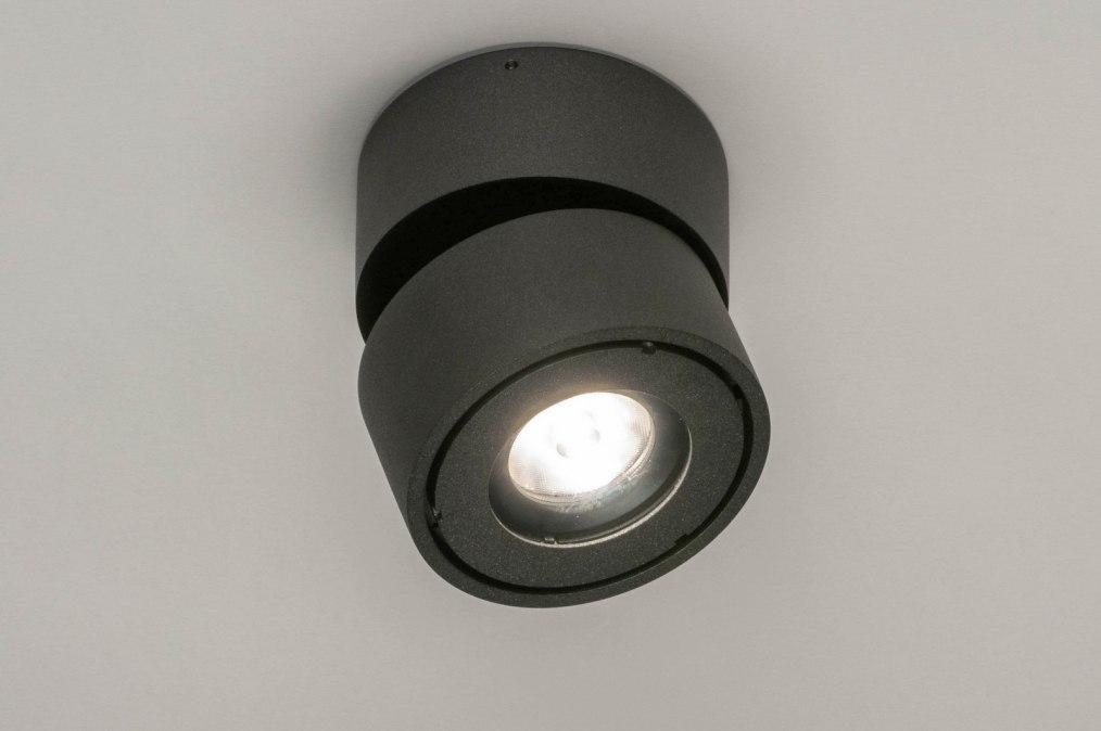 Spot 73446: design, modern, aluminium, antraciet donkergrijs #0