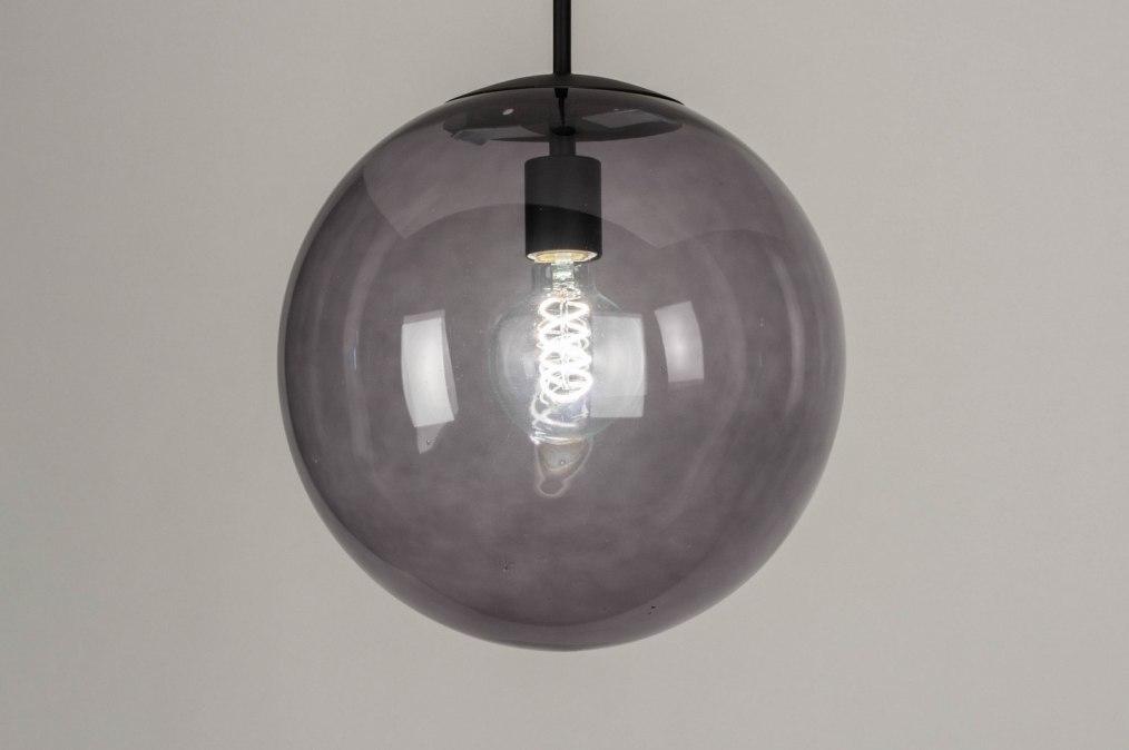Hanglamp 73460: modern, retro, glas, metaal #0