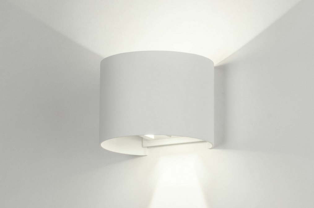 Wall lamp 73478: modern, aluminium, metal, white #0