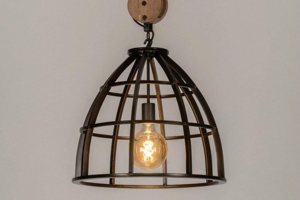 Hanglamp 73501: industrie, look, landelijk, rustiek #0