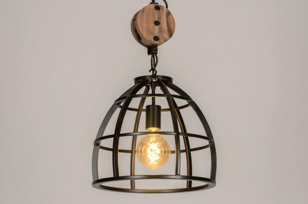 Hanglamp 73502: industrie, look, landelijk, rustiek #0
