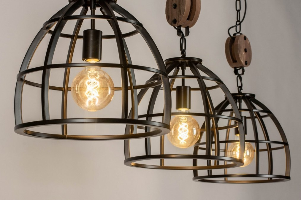 Pendant light 73504: industrial look, rustic, modern, raw #0