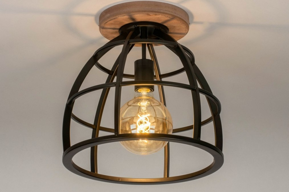 Ceiling lamp 73505: industrial look, rustic, modern, raw #0