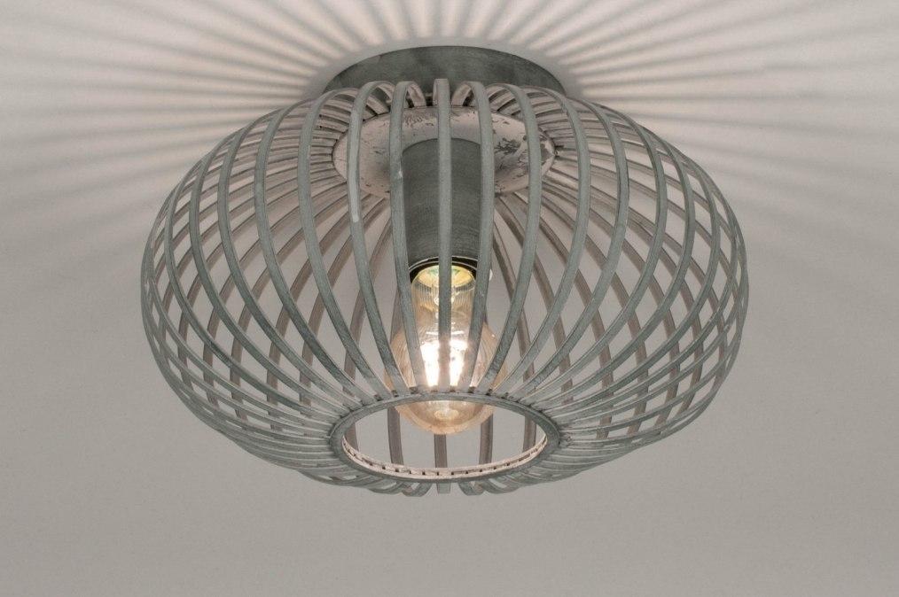 Plafondlamp 73520: industrie, look, design, landelijk #0
