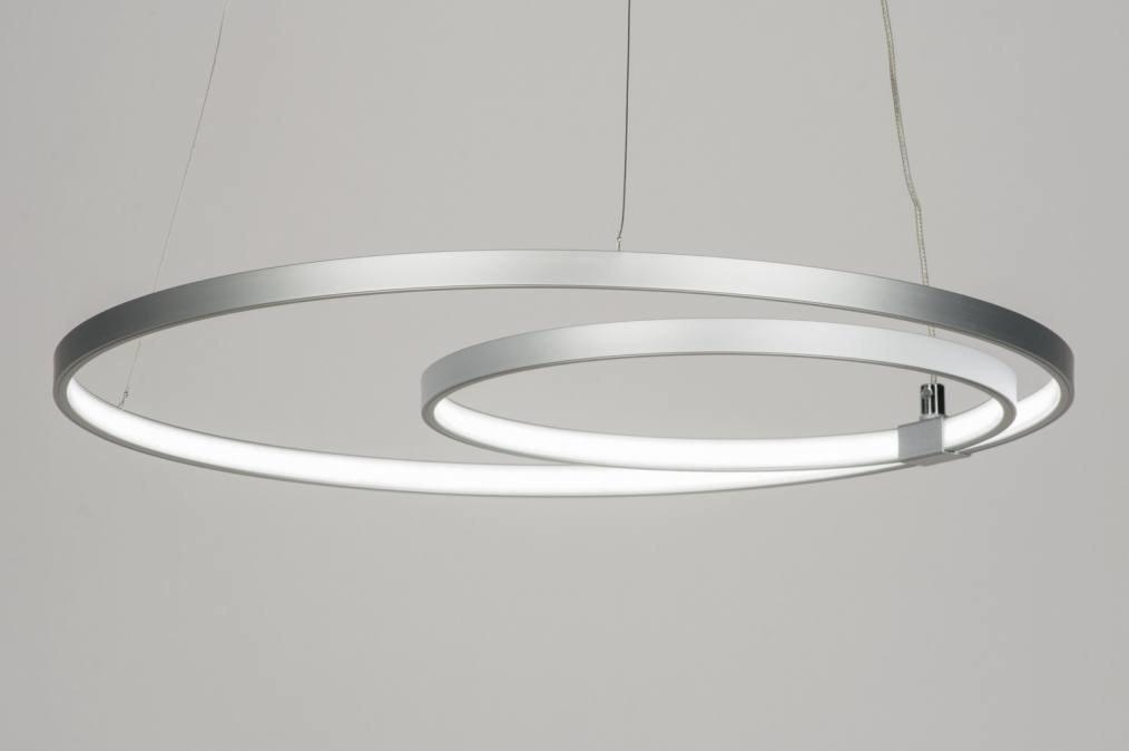 Hanglamp 73523: design, modern, aluminium, metaal #0