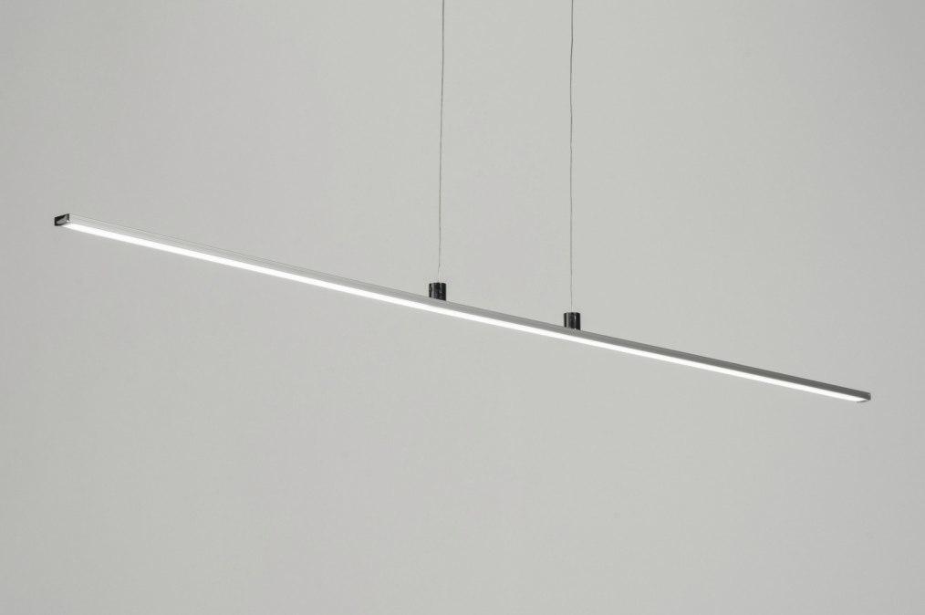 Pendant light 73524: designer, modern, aluminium, plastic #0