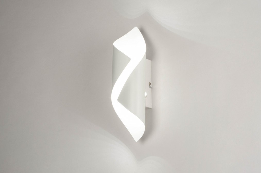 Wandlamp 73540: sale, modern, metaal, wit #0