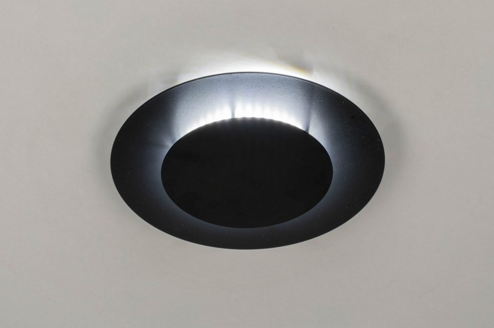 Ceiling lamp 73544: modern, metal, black, matt #0