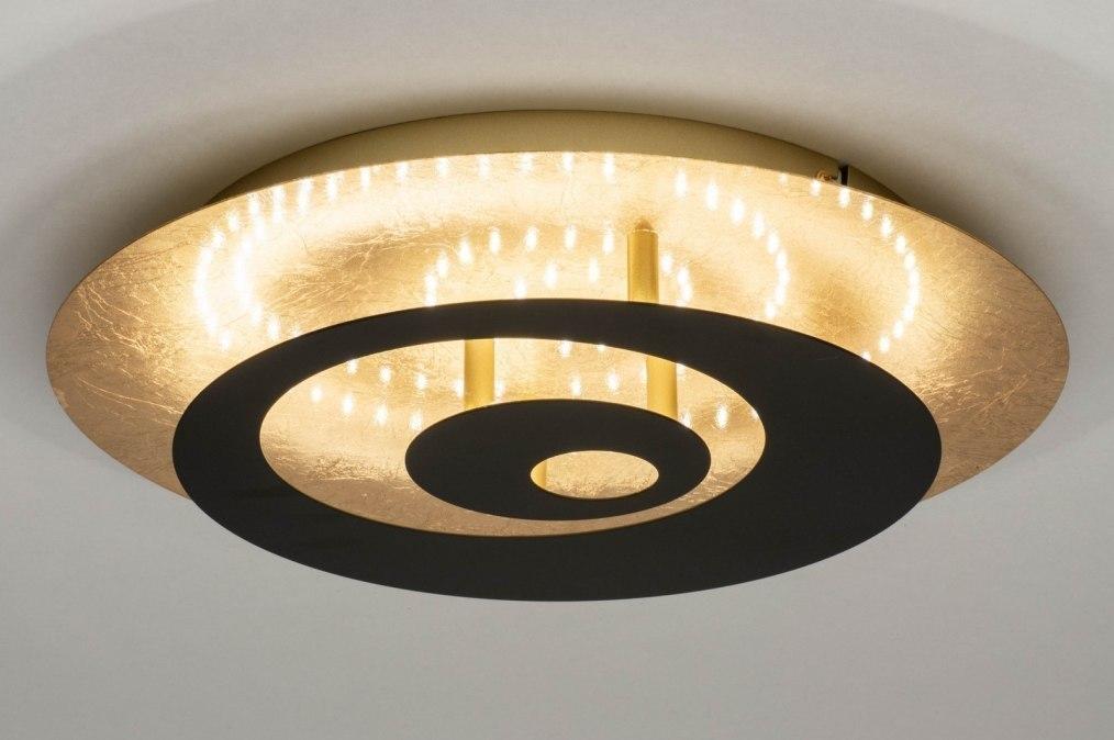 Plafondlamp 73546: modern, retro, eigentijds klassiek, art deco #0