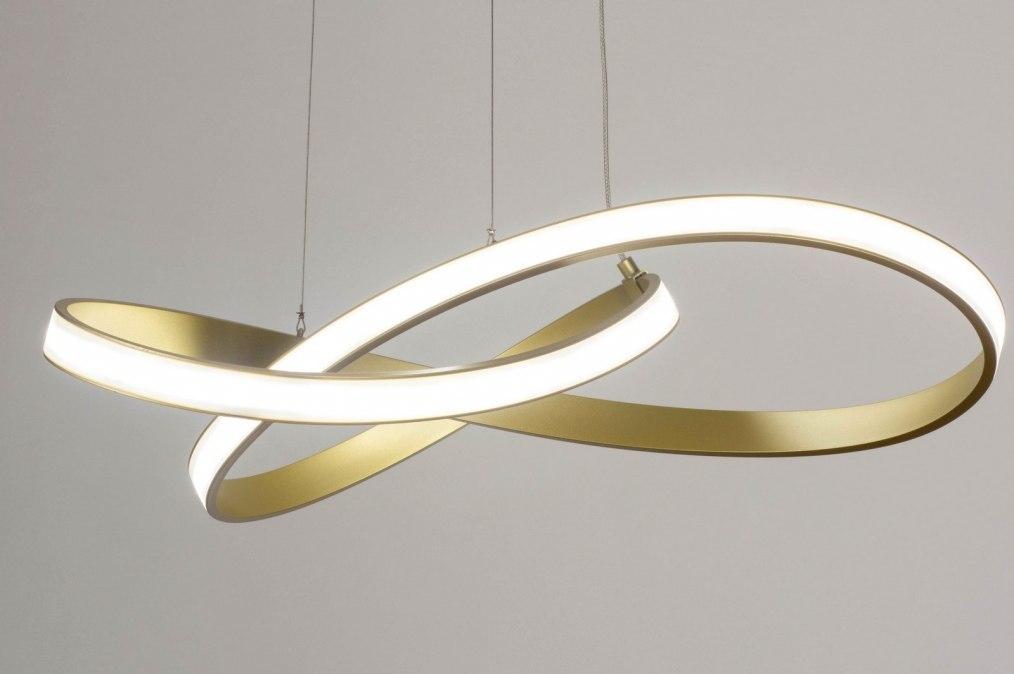 Hanglamp 73556: modern, eigentijds klassiek, aluminium, metaal #0