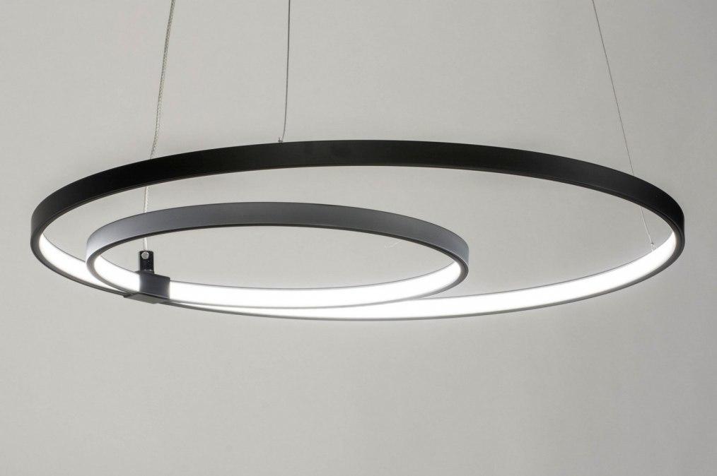 Hanglamp 73570: design, modern, aluminium, metaal #0