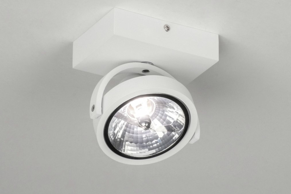 Spotlight 73575: modern, aluminium, white, matt #0