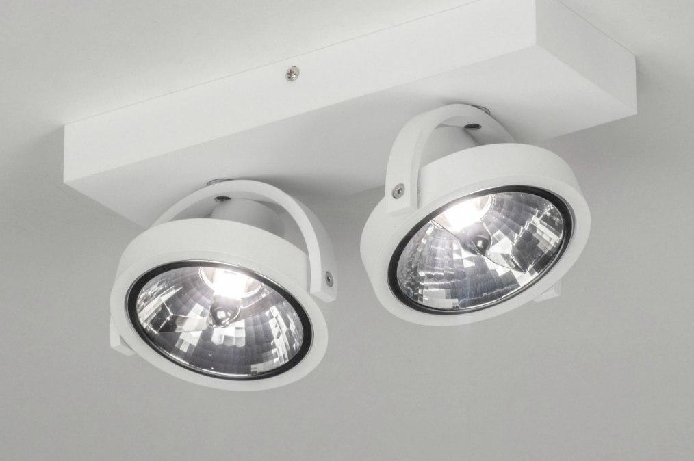 Spotlight 73576: modern, aluminium, white, matt #0