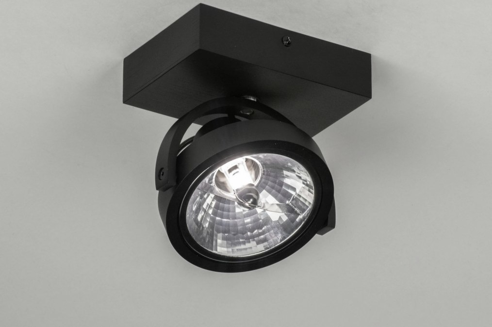 Spotlight 73578: modern, aluminium, black, matt #0