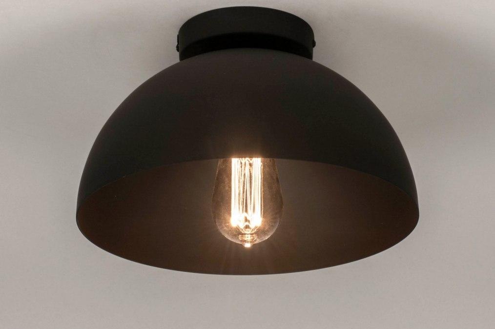 Plafondlamp 73583: industrie, look, modern, metaal #0