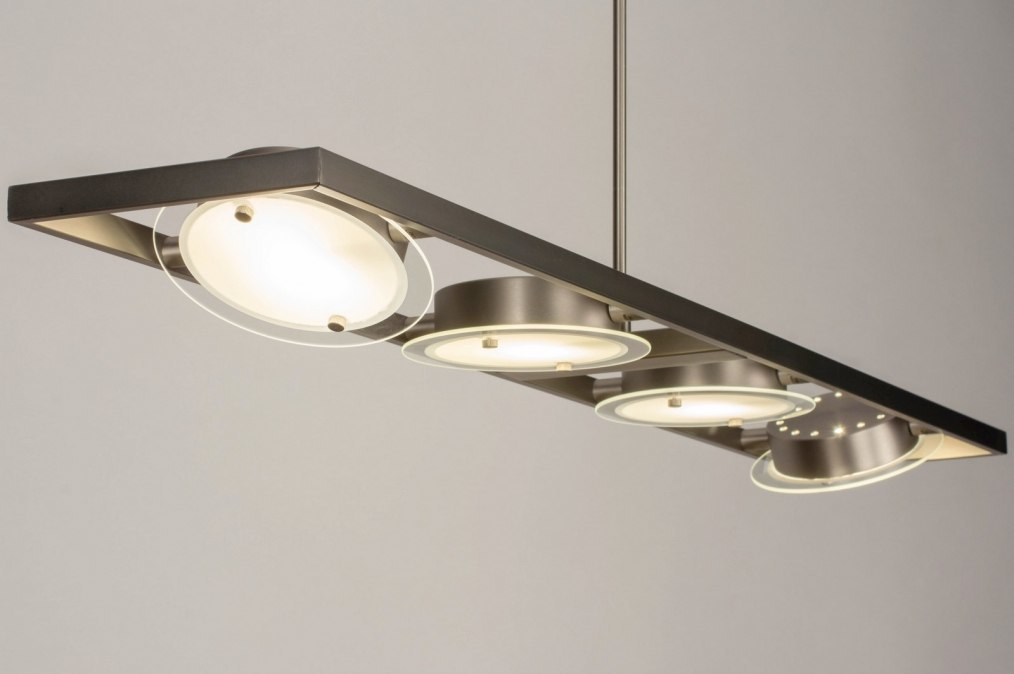 Hanglamp 73586: sale, modern, staal rvs, metaal #0