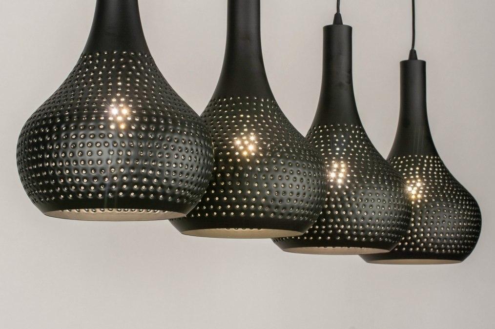 Hanglamp 73604: landelijk, rustiek, modern, metaal #0