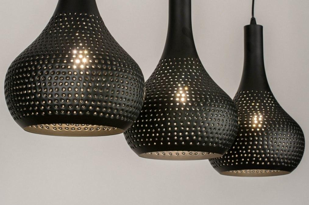 Hanglamp 73605: landelijk, rustiek, modern, metaal #0