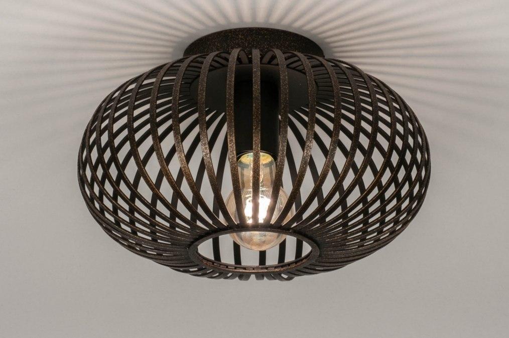 Plafondlamp 73606: sale, landelijk, rustiek, modern #0