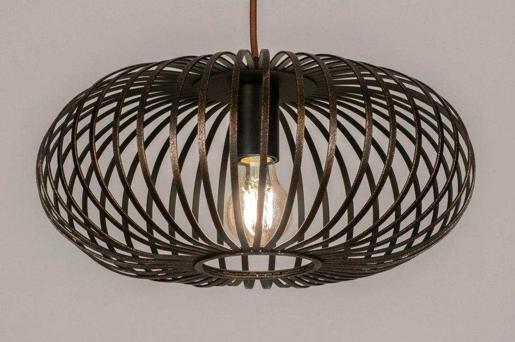 Hanglamp 73607: landelijk, rustiek, modern, retro #0