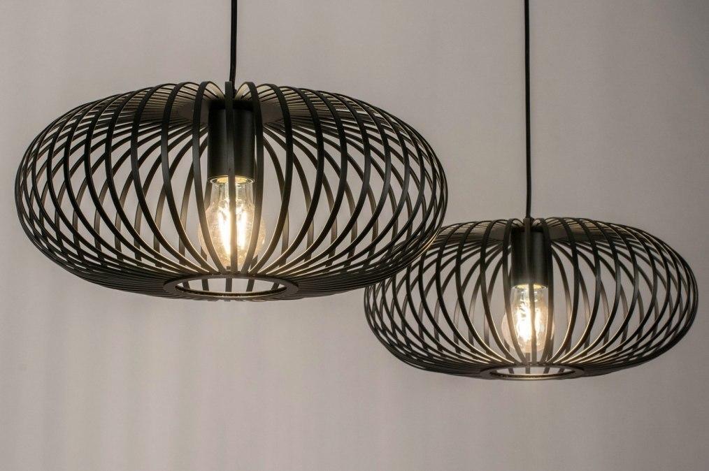 Hanglamp 73610: landelijk, rustiek, modern, retro #0