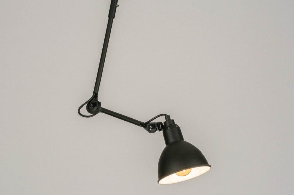 Suspension 73625: soldes, look industriel, moderne, acier #0