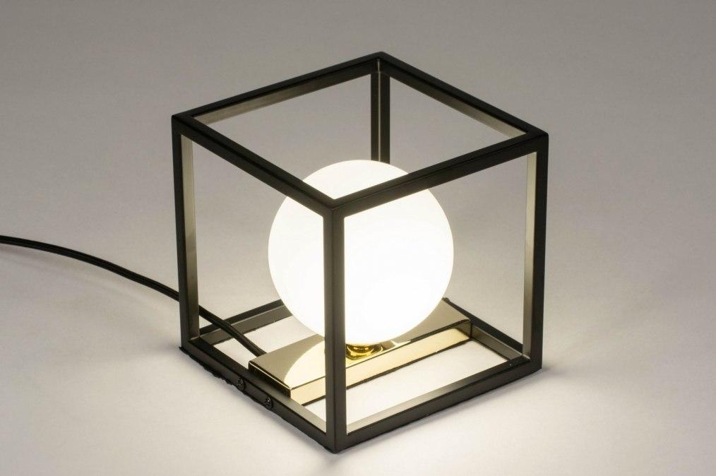 Tafellamp 73636: modern, retro, eigentijds klassiek, art deco #0
