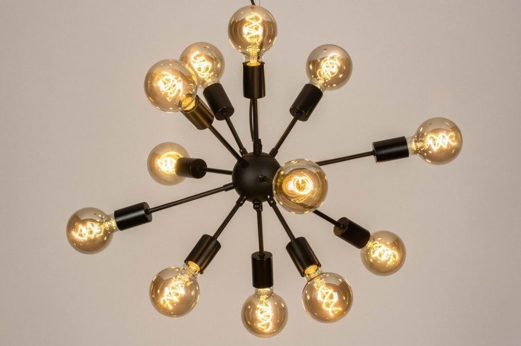 Hanglamp 73638: modern, retro, art deco, metaal #0