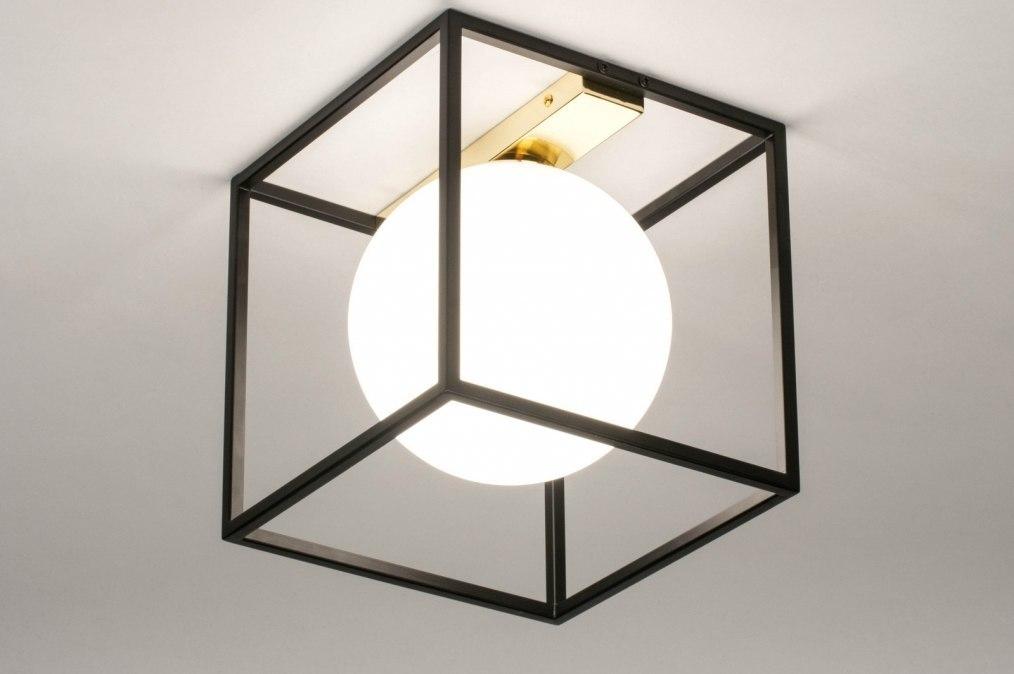 Plafondlamp 73645: modern, retro, eigentijds klassiek, art deco #0