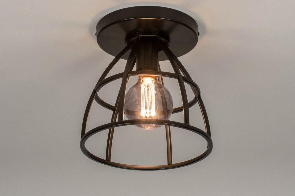 Plafondlamp 73656: industrie, look, landelijk, rustiek #0