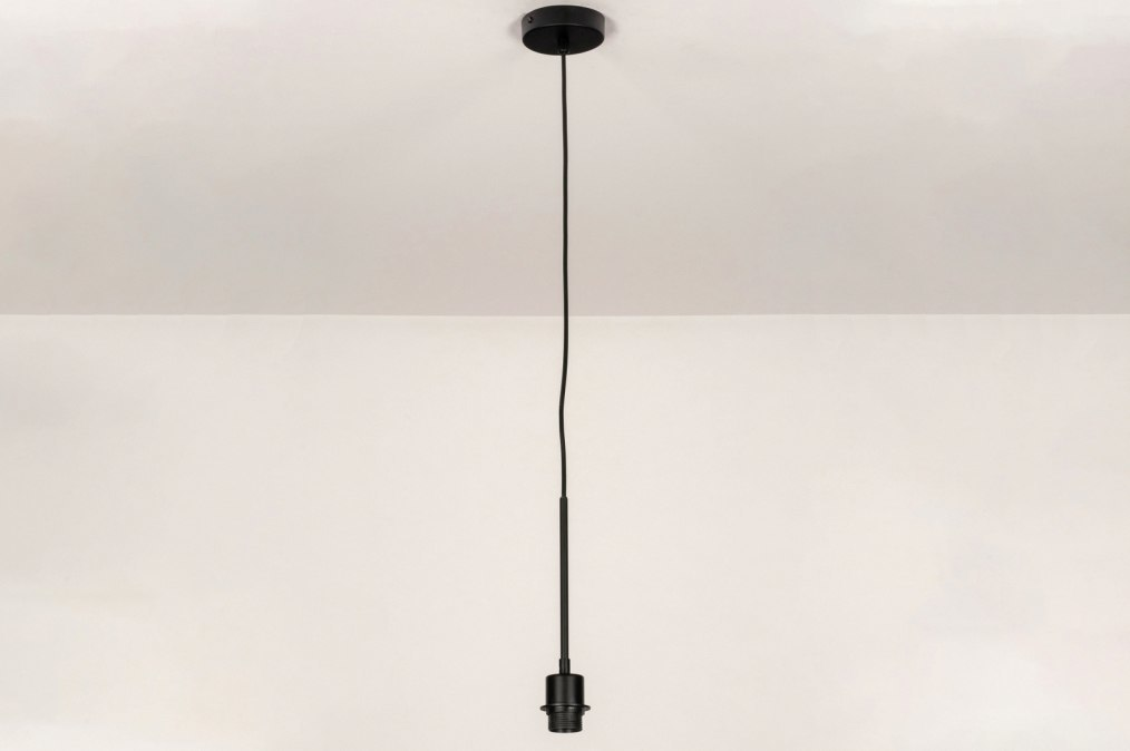 Pendant light 73667: industrial look, modern, metal, black #0