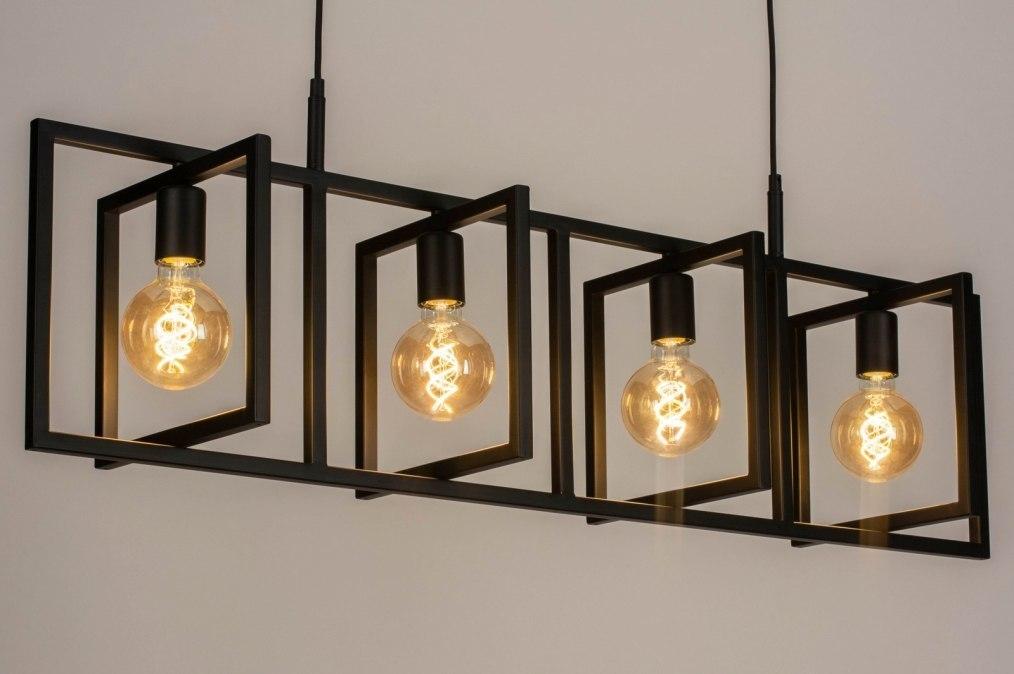 Hanglamp 73690: industrie, look, modern, metaal #0