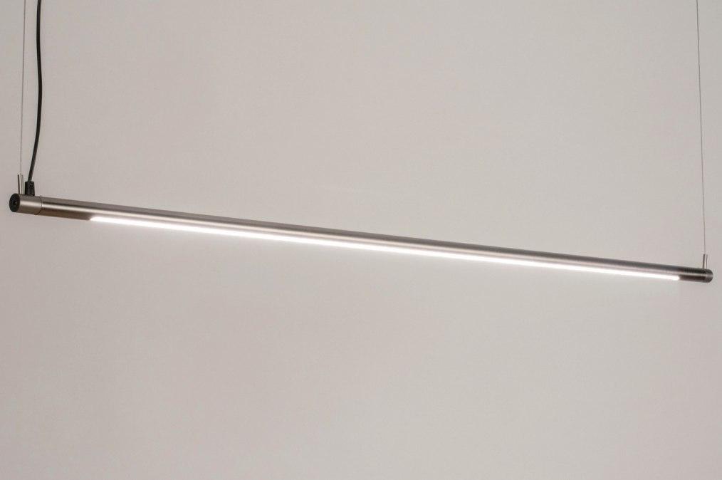 Hanglamp 73694: sale, modern, staal rvs, metaal #0
